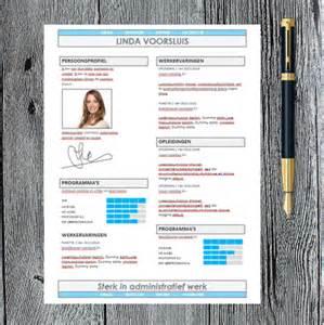 Curriculum Vitae Word Template 2016 cv voorbeeld downloaden template daadkracht