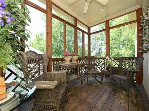 Enclosed Porches Pinterest by Screened Porch Garden Outdoor Spaces Pinterest