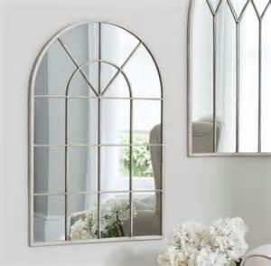 Art Deco Bathroom Sconces Shabby Chic Arched Window Mirror