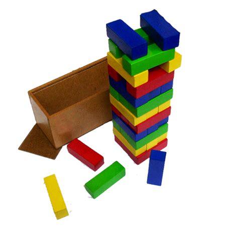 Berkualitas Mainan Edukatif Edukasi Anak Balok Kayu Menara Berti mainan balok kayu anak dhian toys