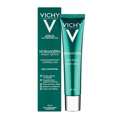 Vichy Normaderm Detox How To Use by Vichy Normaderm Detox 40ml Feelunique