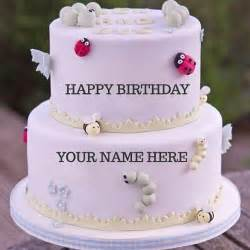birthday cake images with name and photo editor online