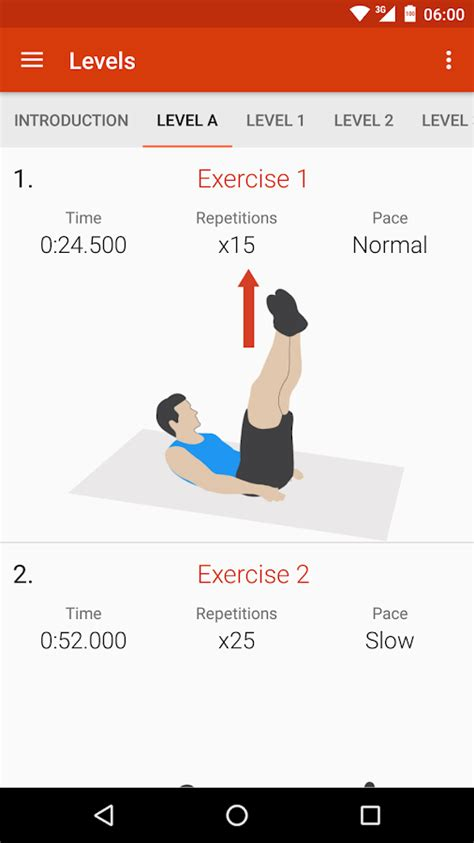 abs workout ii android apps on play