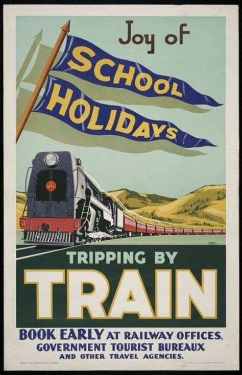 poster design nz 17 best images about vintage railroad travel posters on