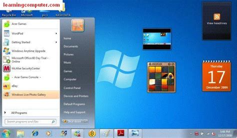 Search Programs What Is Windows 7 Microsoft Windows 7 Tutorial It Computer