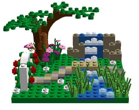 lego ideas garden