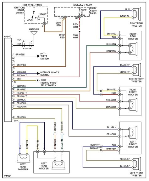 99 jetta radio wiring diagram wiring diagram and