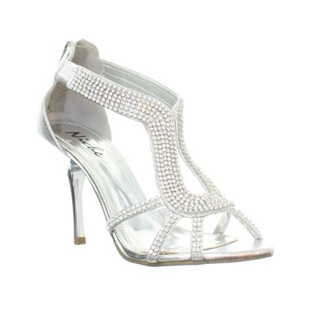 strappy silver sandals silver mid heel sandals low heel sandals