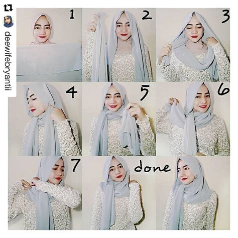 tutorial hijab simple untuk acara pesta 25 kreasi tutorial hijab pesta simple terbaru 2018