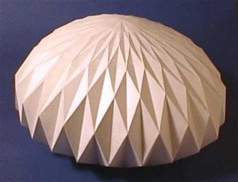 How To Make A Dome Out Of Paper - 40 best images about origami tent on gwangju