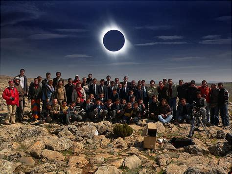 Landscape Photography During Solar Eclipse Expedi 231 Ao Eclipse Total 2006 Akkise Turquia