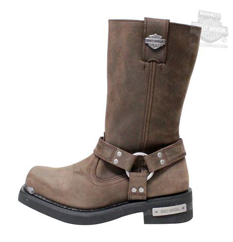 96051 harley davidson 174 mens landon brown leather high
