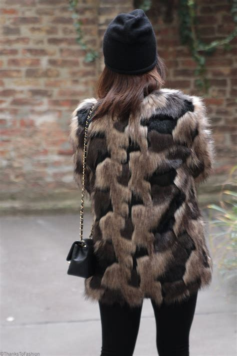 thanks fur last patchwork faux fur thanks to fashion