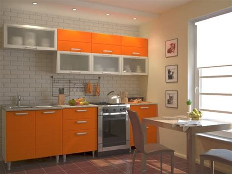 Orange Kitchen Ideas Vibrant Orange Kitchen Decorating Ideas Interior Design