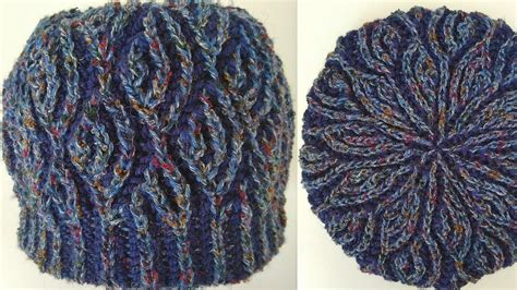 two colour knitting patterns free fish scales hat two color brioche stitch knitting pattern