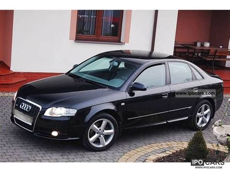 2007 audi a4 2 0 specs 2007 audi a4 s line 2 0 tdi quattro saloon car photo and