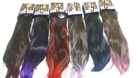 Hairclip Big Layer 60cm Kode Tr12342 ombre lurus ponytail 6 warna md 0006 madamsharma madamsharma