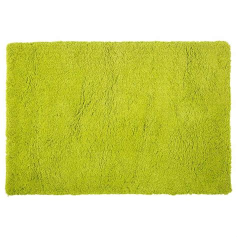 tappeto pelo lungo tappeto verde a pelo lungo 120 x 180 cm magic maisons du