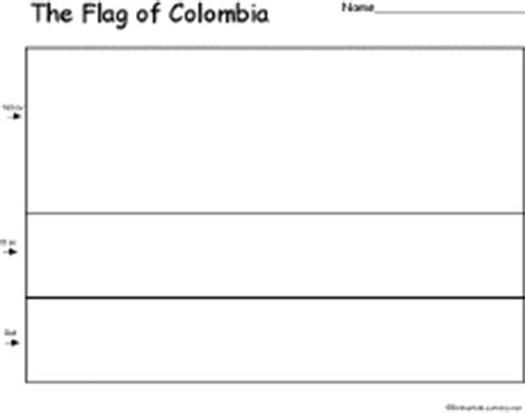 Columbia Flag Coloring Page Colombia S Flag Enchantedlearning Com by Columbia Flag Coloring Page