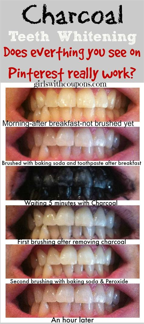 7 Day Teeth Whitening Detox by Best 20 Activated Charcoal Teeth Ideas On