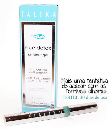 Talika Eye Detox Review by Testando Talika Eye Detox Makeup Atelier Por Cinthia