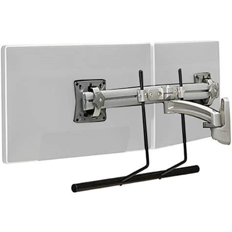 dual swing arm wall mount chief k2 dual display swing arm wall mount silver