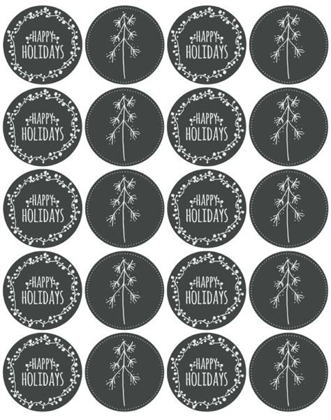 printable mason jar labels christmas 24 best chalkboard labels and templates diy also images