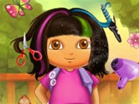 dora hairstyles games dora real haircuts hair games baby games