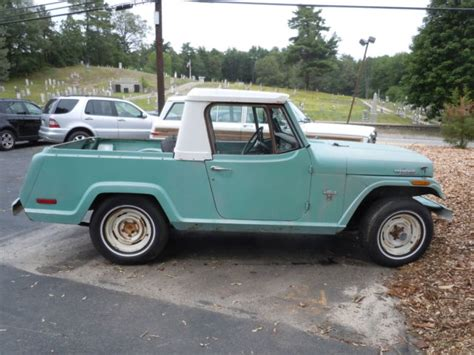 71 Jeep Truck 71 Jeep Jeepster Commando From Cali In Ma 4x4 Power