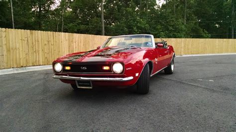 1968 camaro convertible ss for sale 1968 chevrolet camaro 350 ss convertible for sale