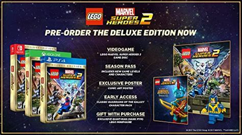 Murah Ps4 Lego Marvel Heroes Reg 2 lego marvel superheroes 2 deluxe playstation 4