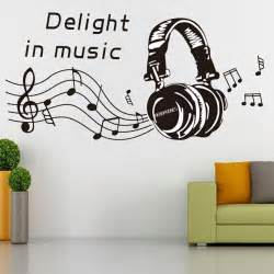 notes play write wall sticker removable home mural