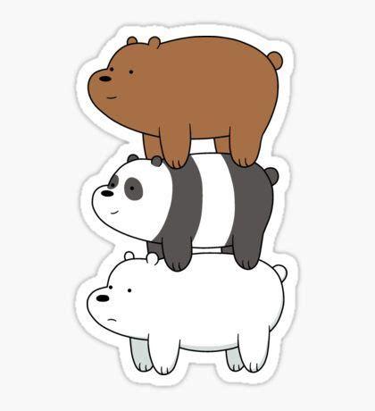 Stiker We Bare Bears Polar Lucu Imut trending stickers bare bears