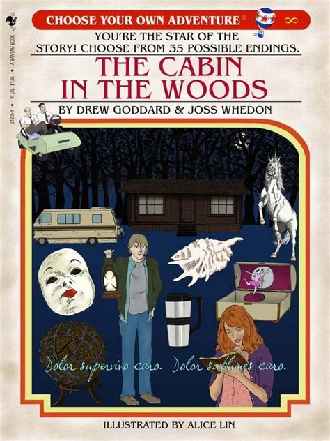 Cabin In The Woods Book The Cabin In The Woods As A Choose Your Own Adventure Book