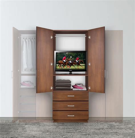 hanging wardrobe armoire bella armoire hanging wardrobe storage contempo space