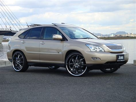 pimped lexus rx 350 lexus rx 350 with 24 quot hipnotic wheels clublexus