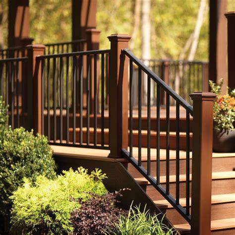 Composite Handrail trex signature railing kits wimsatt building materials