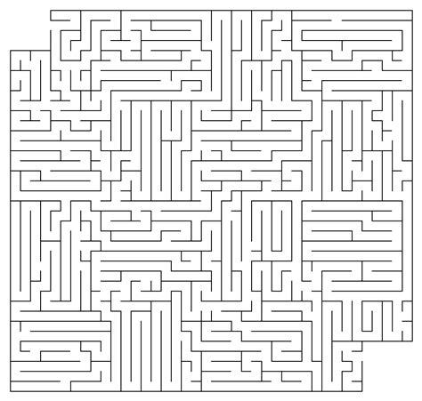 free printable number maze free mazes