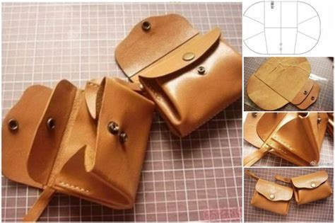 How To Make A Leather by How To Diy Leather Purse