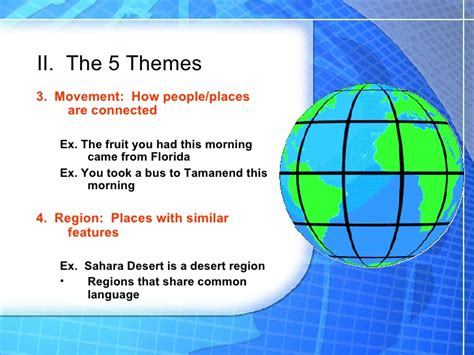 5 themes of geography mexico 5 themes of geography