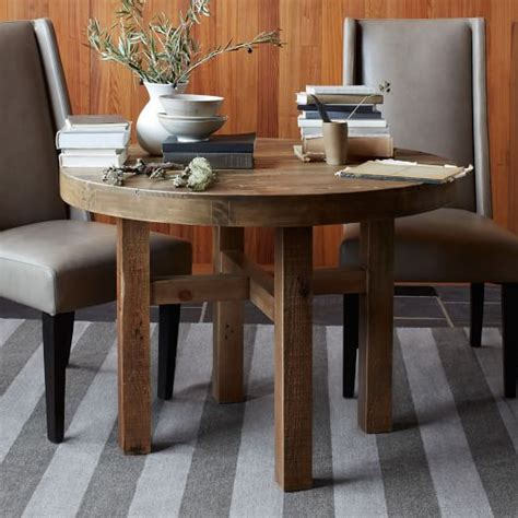 west elm round table emmerson 174 reclaimed wood round dining table west elm