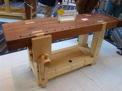 wood working work bench build a workbench yourself plans that s not a petite