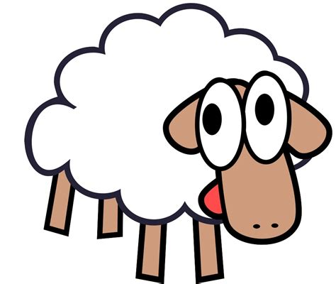 clipart free images goat clip images black and white