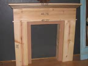 blue roof cabin diy faux fireplace and mantel diy