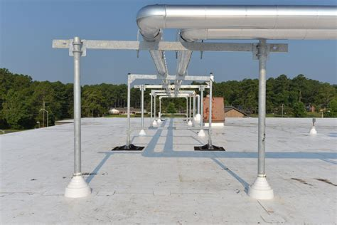 Pipe Sleeper Support by Wind Loading On Rooftop Equipment By Robb Davis P E