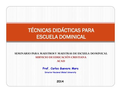 manual para maestros de escuela dominical descargar manual para maestros de escuela dominical