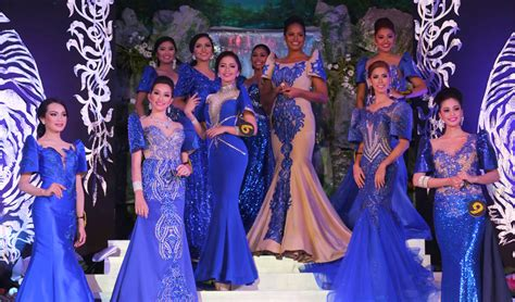 Katun Mr Miss Blue in photos mr ms scuaa2016 highlights visayas state