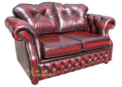 oxblood chesterfield couch chesterfield era 2 seater settee traditional chesterfield