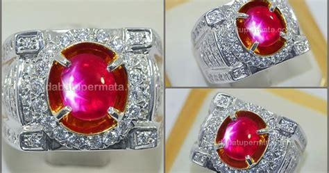 6 6 Ct Ruby Mirah Delima Memo batu antik mirah delima ruby mogok burma rbs 267
