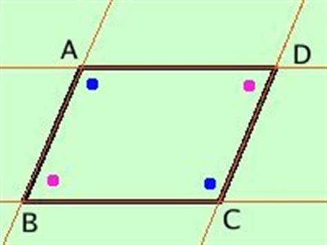 somma degli angoli interni di un parallelogramma teorema sui parallelogrammi